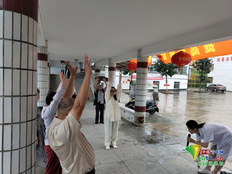 安徽学子传统养生保健功法与中医药文化的推广之路